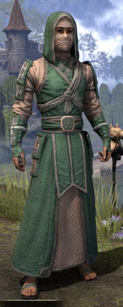 Ancestral Akaviri - Male Robe Front