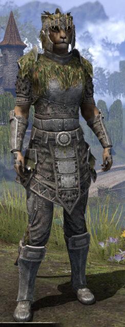 Black Fin Legion Iron - Khajiit Female Front