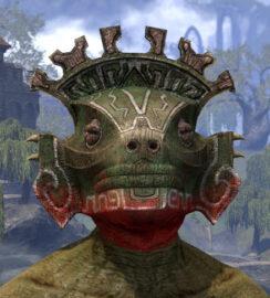 Bog Blight Funerary Mask - Argonian Male Front