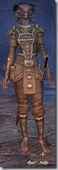 Argonian Dragonknight Novice - Female Front