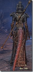 Argonian Sorcerer Veteran - Female Back