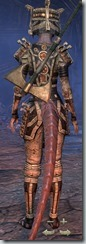 Argonian Templar Veteran - Female Back