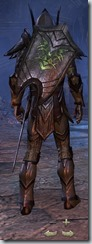 Dark Elf Dragonknight Veteran - Male Back