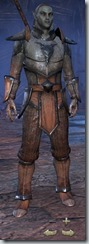 Dark Elf Templar Novice - Male Front
