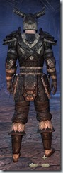 Nord Nightblade Veteran - Male Back