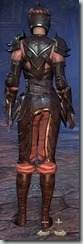 Redguard Nightblade Veteran - Female Back