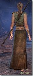 Redguard Sorcerer Novice - Female Back