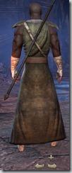 Redguard Sorcerer Novice - Male Back