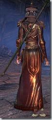Redguard Sorcerer Veteran - Female Back