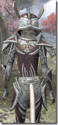 Altmer Calcinium - Female VR1 Fine Close Back