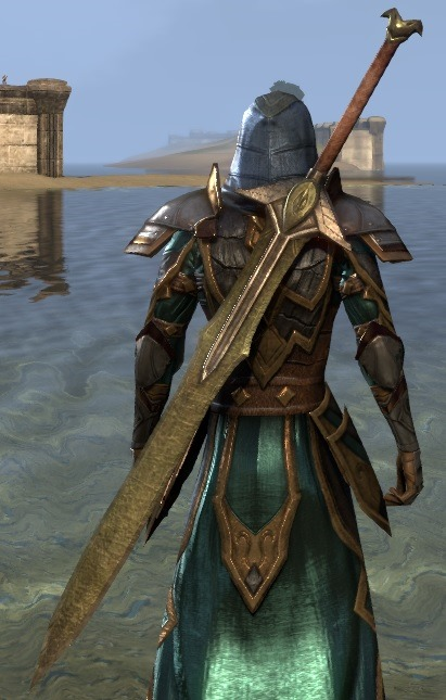 Eso Fashion Dwarven Greatsword Elder Scrolls Online