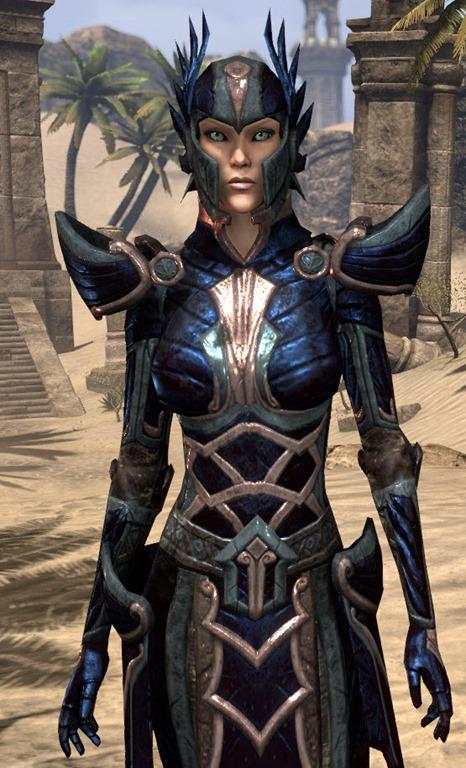 ESO Fashion Ancient Elf Voidsteel Elder Scrolls Online