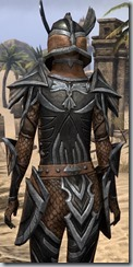 Altmer Ebon - Female 50 Normal Close Back
