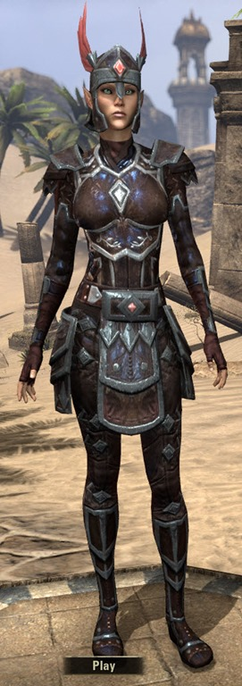 Eso Fashion Imperial Shadowhide Elder Scrolls Online