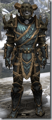 Bosmer Bone-Reinfroced - Male 38 Superior Front