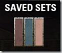 Saved Sets