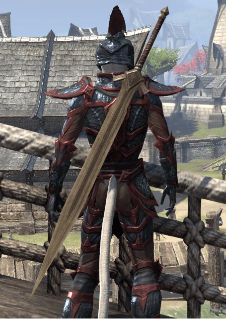 Eso Fashion Dwarven Sword Elder Scrolls Online