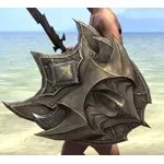 Daedric Hickory Shield