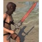 Daggerfall Covenant Rubedite Sword