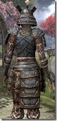 Akaviri Iron - Female Close Back