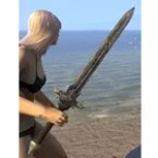 Ancient Elf Iron Sword