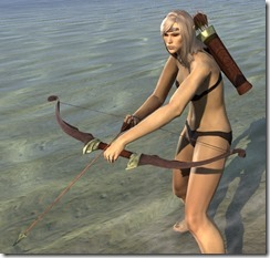 Ancient Elf Ruby Ash Bow