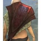 Ancient Elf Ruby Ash Shield