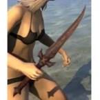 Barbaric Rubedite Dagger
