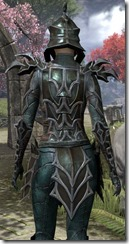 Daedric Quicksilver - Female Close Back