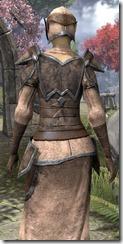 Dunmer Homespun Robe - Female Close Back