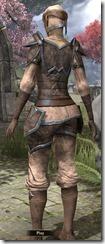 Dunmer Homespun Shirt - Female Back
