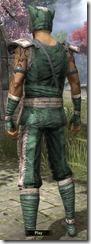 Khajiit Homespun Shirt - Male Back