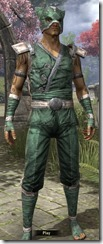 Khajiit Homespun Shirt - Male Front