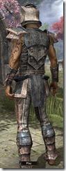 Khajiit Iron - Male Back