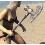 Mercenary Iron Axe