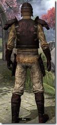 Soul-Shriven Rubedite - Male Back