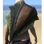 Ancient Elf Mahogany Shield