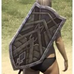 Ancient Orc Beech Shield