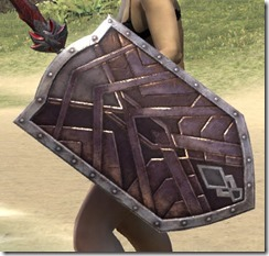 Ancient Orc Birch Shield