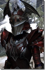 EP Rubedite Heavy Normal Female Helm Dyed Angled