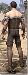 Corseted Riding Outfit - Male Back