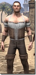 Corseted Riding Outfit - Male Close Front