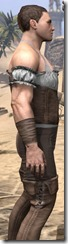 Corseted Riding Outfit - Male Close Side