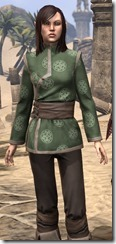 Eternity Tunic with Pants - Female Close Front