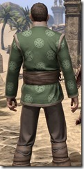 Eternity Tunic with Pants - Male Close Back
