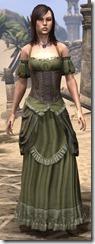 Off-the-Shoulder Evening Dress - Female Front