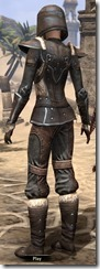 Orcisg Scout Armor - Female Back