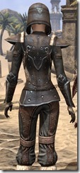 Orcisg Scout Armor - Female Close Back