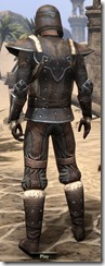 Orcisg Scout Armor - Male Back