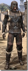 Orcisg Scout Armor - Male Front